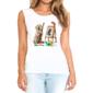 Transfer sublimático para camiseta Feminina 004185
