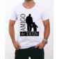 Transfer sublimático para camiseta Religiosa 001513