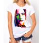 Transfer sublimático para camiseta Avril Lavigne 000176