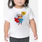 Transfer sublimático para camiseta Heróis Baby 004313