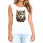 Transfer sublimático para camiseta Feminina 004166