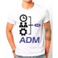 Transfer sublimático para camiseta Administração 002967