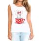 Transfer sublimático para camiseta Feminina 002291