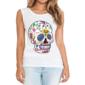 Transfer sublimático para camiseta Caveira Mexicana 002055