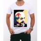Transfer sublimático para camiseta Albert Einstein 001269