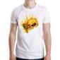 Transfer sublimático para camiseta Caveiras 004533