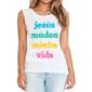 Transfer sublimático para camiseta Religiosa 001561