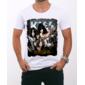 Transfer sublimático para camiseta Kiss 000254