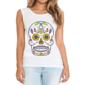 Transfer sublimático para camiseta Caveira Mexicana 002045