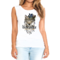 Transfer sublimático para camiseta Feminina 004195