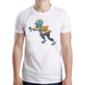 Transfer sublimático para camiseta Zombies 004338