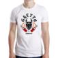 Transfer sublimático para camiseta Caveiras 004526