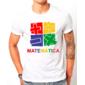 Transfer sublimático para camiseta Matemática 003016