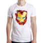 Transfer sublimático para camiseta Heróis/Vilões 004590