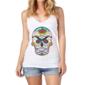 Transfer sublimático para camiseta Caveira Mexicana 000097