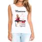 Transfer sublimático para camiseta Manicure 004753