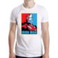 Transfer sublimático para camiseta Heróis/Vilões 004690