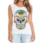 Transfer sublimático para camiseta Caveira Mexicana 002046