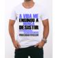Transfer sublimático para camiseta Frases 000819