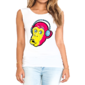 Transfer sublimático para camiseta Animal Hipster 004485