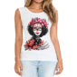 Transfer sublimático para camiseta Feminina 002010