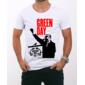 Transfer sublimático para camiseta Green Day 000224