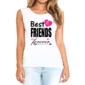 Transfer sublimático para camisa Amizade 004577