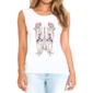 Transfer sublimático para camiseta Feminina 002233