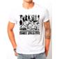 Transfer sublimático para camiseta Zombies 001929