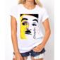 Transfer sublimático para camiseta Charlie Chaplin 001276