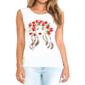 Transfer sublimático para camiseta Feminina 002733