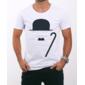 Transfer sublimático para camiseta Charlie Chaplin 001279