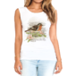 Transfer sublimático para camiseta Feminina 003434