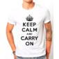 Transfer sublimático para camiseta Keep Calm 002919