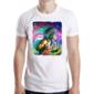 Transfer sublimático para camiseta Abstrata 004823