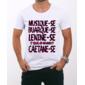 Transfer sublimático para camiseta Frases 000803