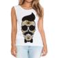 Transfer sublimático para camiseta Caveira Mexicana 002058
