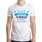 Transfer sublimático para camisa Amizade 004562