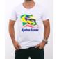 Transfer sublimático para camiseta Ayrton Senna 001275