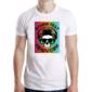 Transfer sublimático para camiseta Caveiras 003714