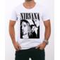 Transfer sublimático para camiseta Nirvana 000290