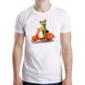 Transfer sublimático para camiseta Sapos Funny 003627