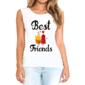 Transfer sublimático para camisa Amizade 004563