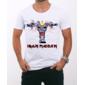 Transfer sublimático para camiseta Iron Maiden 000239