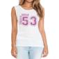 Transfer sublimático para camiseta Feminina 000565
