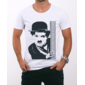 Transfer sublimático para camiseta Charlie Chaplin 001280