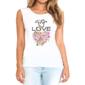 Transfer sublimático para camiseta Feminina 004139