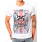 Transfer sublimático para camiseta Caveiras 001455