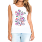 Transfer sublimático para camiseta Feminina 002820