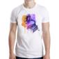 Transfer sublimático para camiseta Abstrata 003624